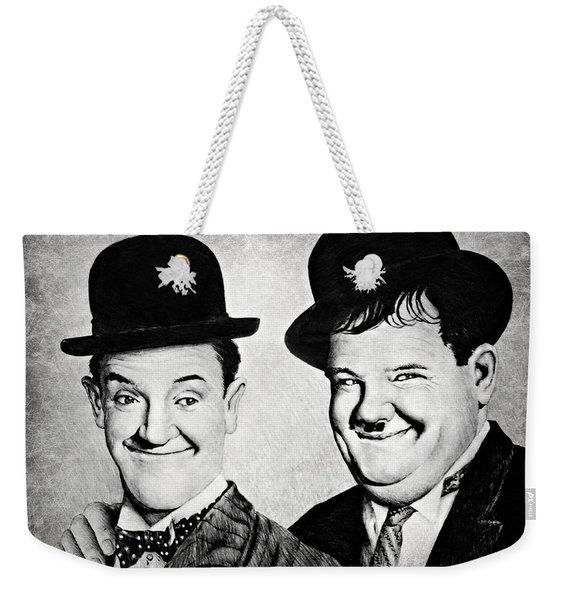 Laurel And Hardy My Pal Weekender Tote Bag
