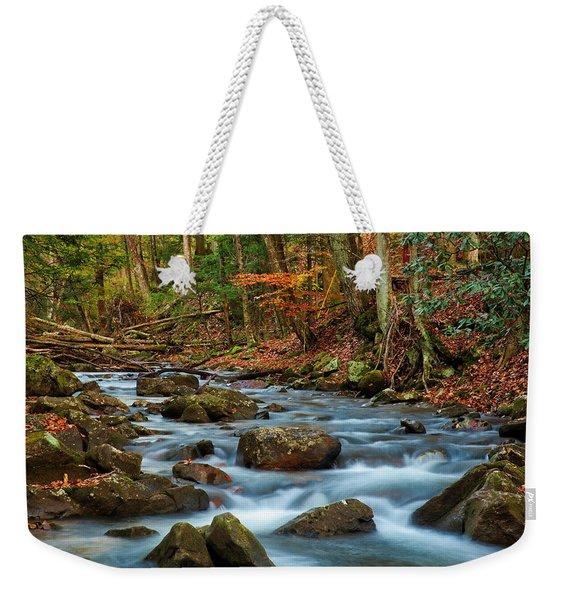 Laurel Fork In The Fall Weekender Tote Bag