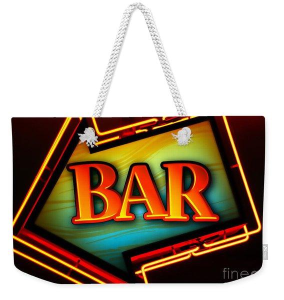 Laurettes Bar Weekender Tote Bag