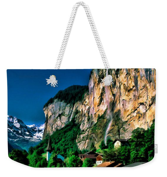 Lauterbrunnen Weekender Tote Bag