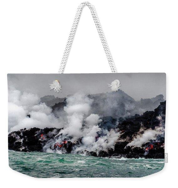 Lava Shelf Weekender Tote Bag