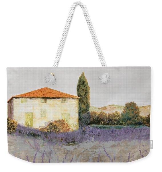 Lavanda Grassa Weekender Tote Bag