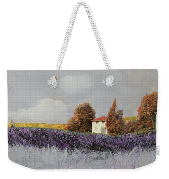 Lavanda Orizzontale Weekender Tote Bag
