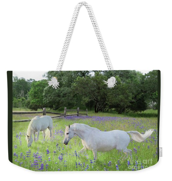 Lavender Pastures Weekender Tote Bag