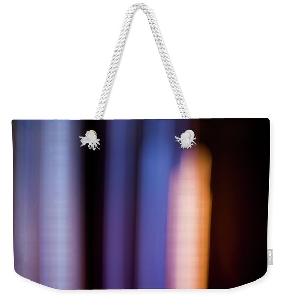 Lavender And Rose Gold No. 2 Weekender Tote Bag