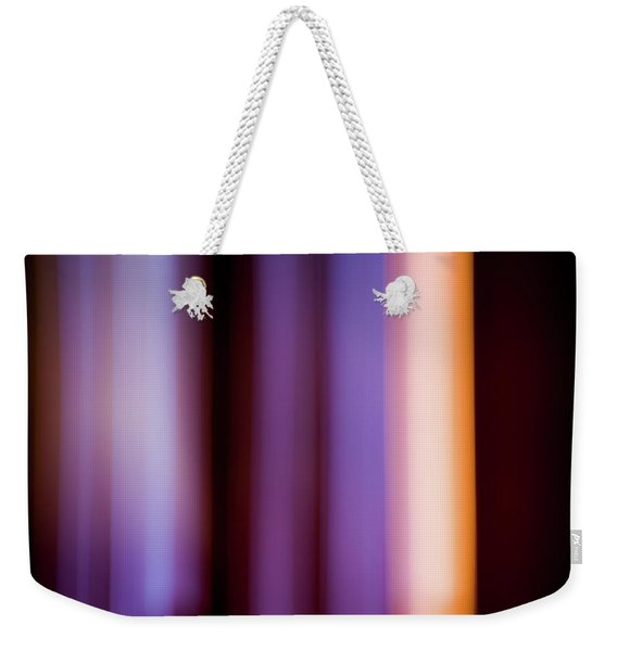 Lavender And Rose Gold Weekender Tote Bag