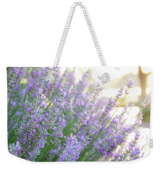 Lavender At Dawn Weekender Tote Bag