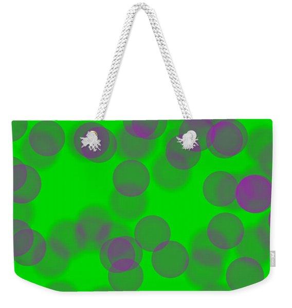 Lavender Bokeh Weekender Tote Bag