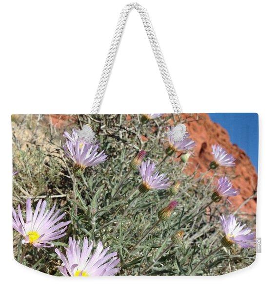 Lavender Drops Weekender Tote Bag