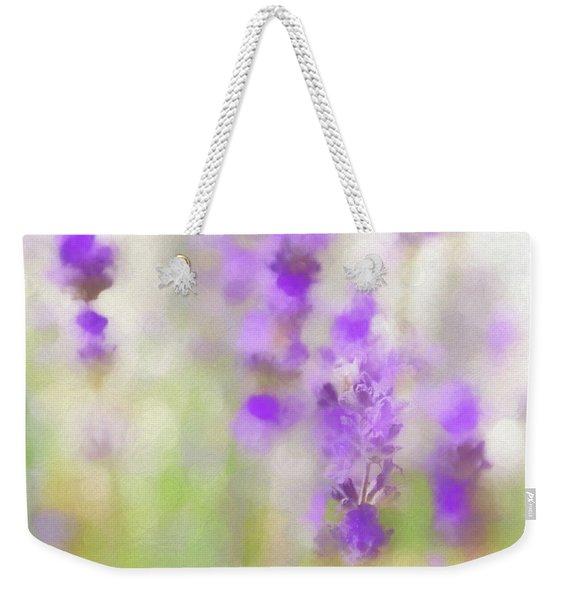 Lavender Fields Forever Weekender Tote Bag