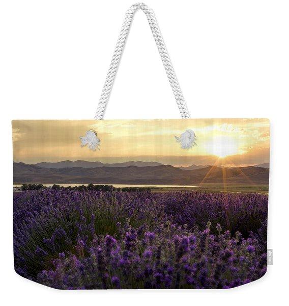 Lavender Glow Weekender Tote Bag