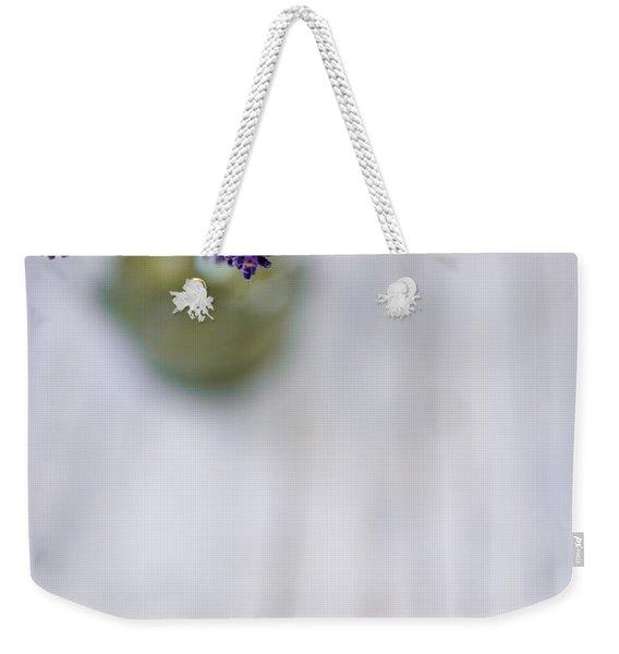 Lavender Still Life Weekender Tote Bag