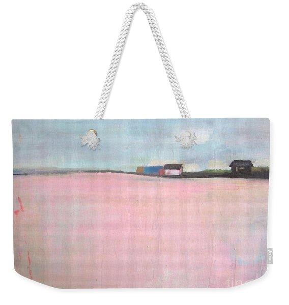 Lavender Valley Weekender Tote Bag
