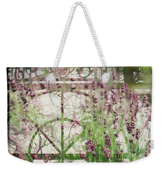 Lavender Whisper Weekender Tote Bag