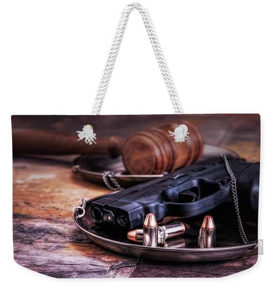 Law Enforcement Still Life Weekender Tote Bag