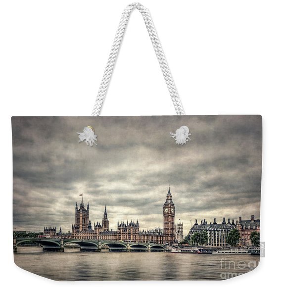 Lay Back And Think Of England Weekender Tote Bag