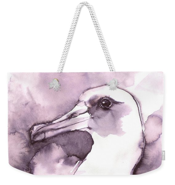 Laysan Albatross Weekender Tote Bag