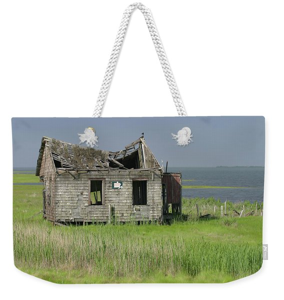 Long Beach Island Crab Shack Weekender Tote Bag