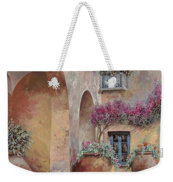Le Arcate In Cortile Weekender Tote Bag