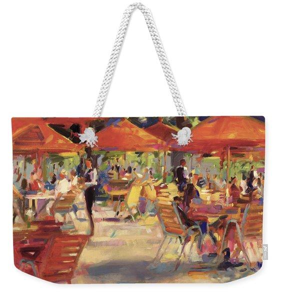 Le Cafe Du Jardin  Weekender Tote Bag