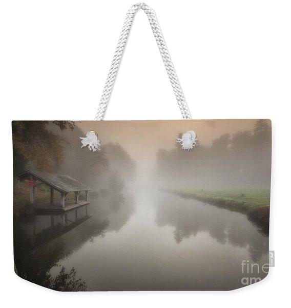 The Sleeping Channel Weekender Tote Bag