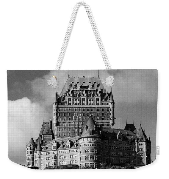 Le Chateau Frontenac - Quebec City Weekender Tote Bag
