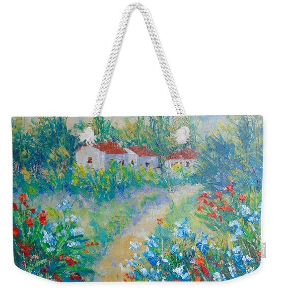 Le Jardin De Giverny Weekender Tote Bag