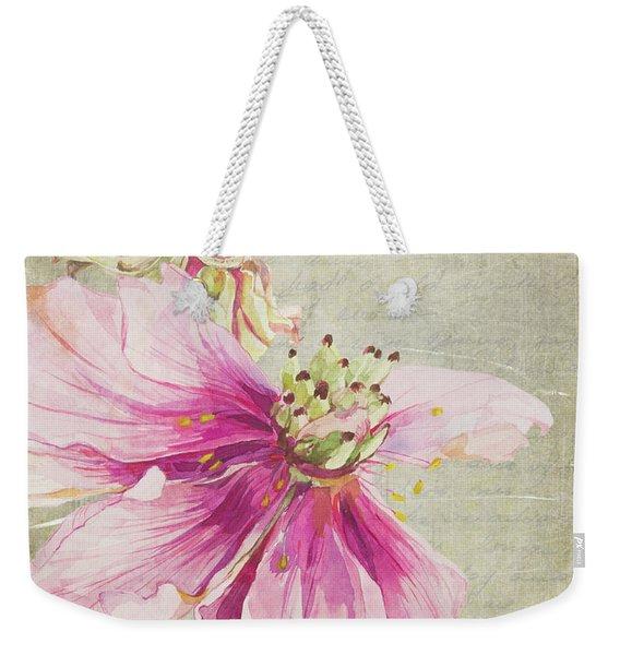 Le Jardin Rougir Weekender Tote Bag