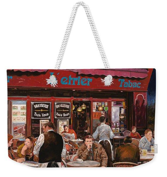 Le Mani In Bocca Weekender Tote Bag