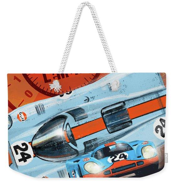 Le Mans 24h Weekender Tote Bag