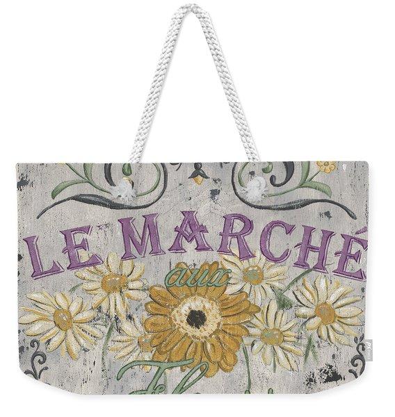 Le Marche Aux Fleurs 1 Weekender Tote Bag