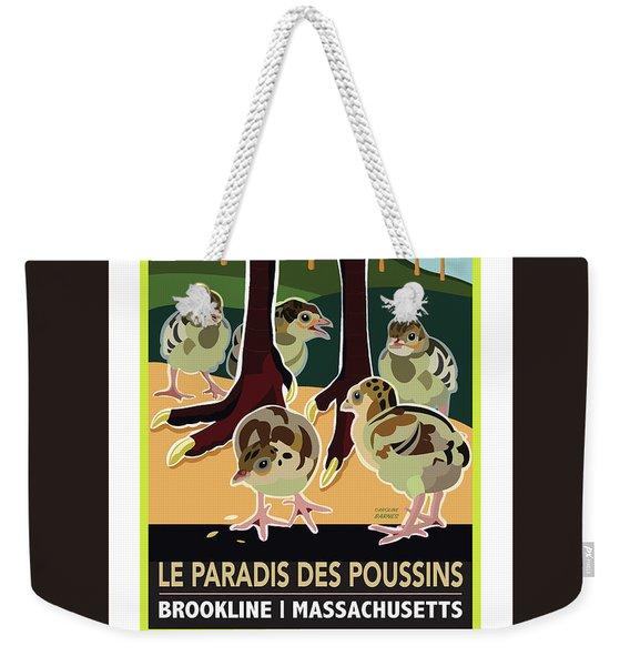 Le Paradis Des Poussins Weekender Tote Bag