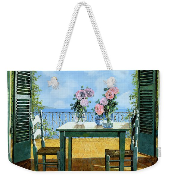 Le Rose E Il Balcone Weekender Tote Bag