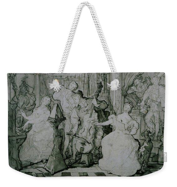 Le Roy Rene Weekender Tote Bag