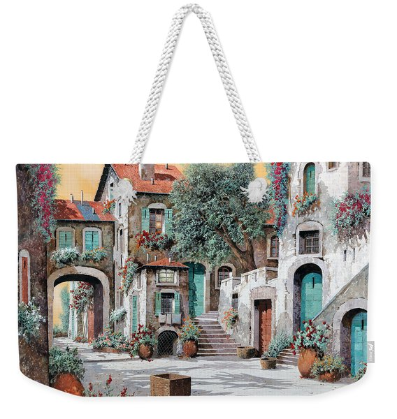 Le Scale Tra Le Case Weekender Tote Bag