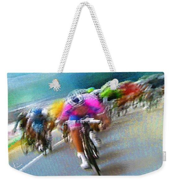 Le Tour De France 09 Weekender Tote Bag
