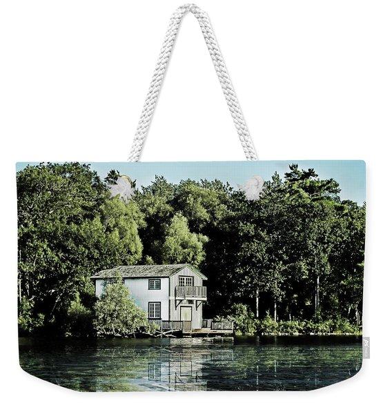 Leacock Boathouse Weekender Tote Bag