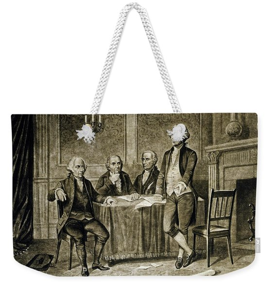 Leaders Of The First Continental Congress Weekender Tote Bag