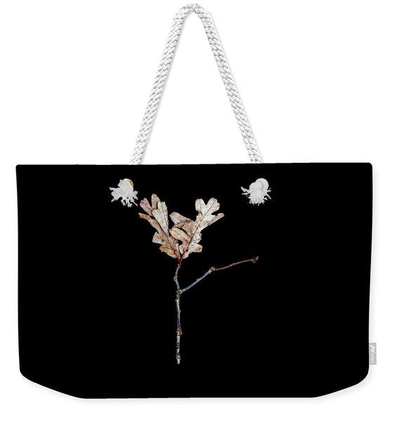 Leaf 23 Weekender Tote Bag