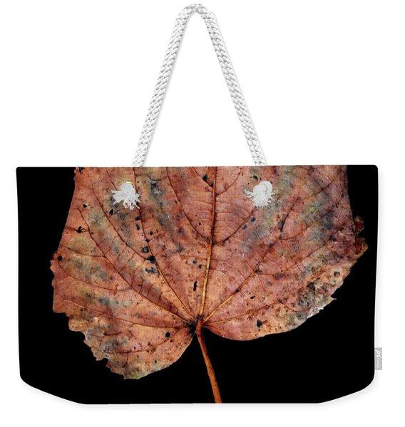 Leaf 8 Weekender Tote Bag