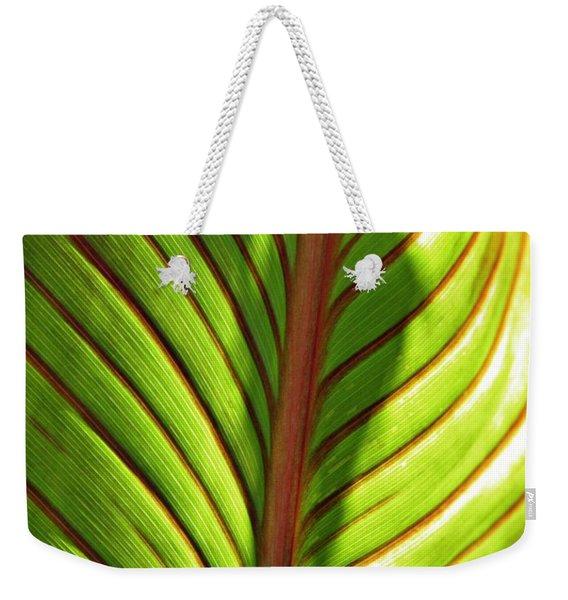 Leaf Abstract  23 Weekender Tote Bag