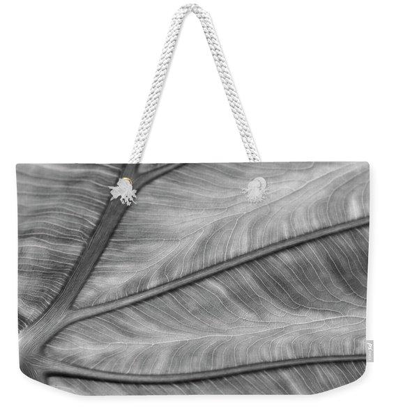 Leaf Abstraction Weekender Tote Bag