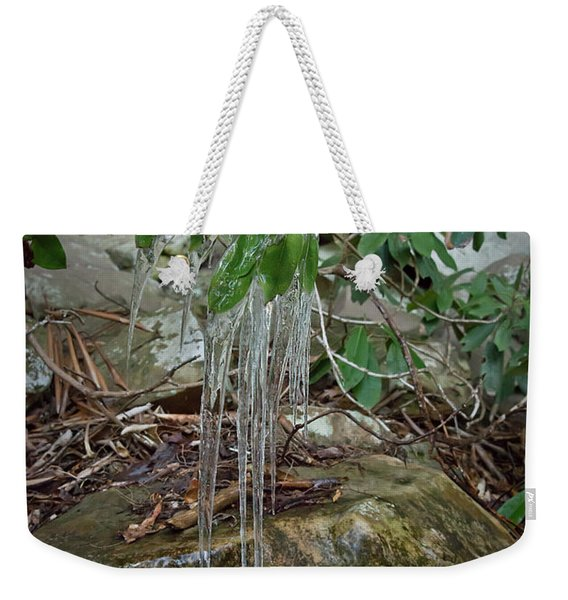 Leaf Drippings Weekender Tote Bag