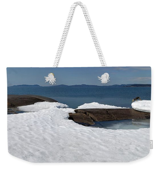 Leap   Weekender Tote Bag