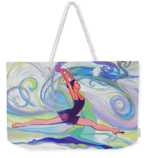 Leap Of Joy Weekender Tote Bag