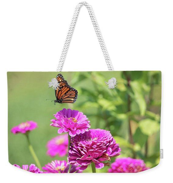 Leaping Butterfly Weekender Tote Bag
