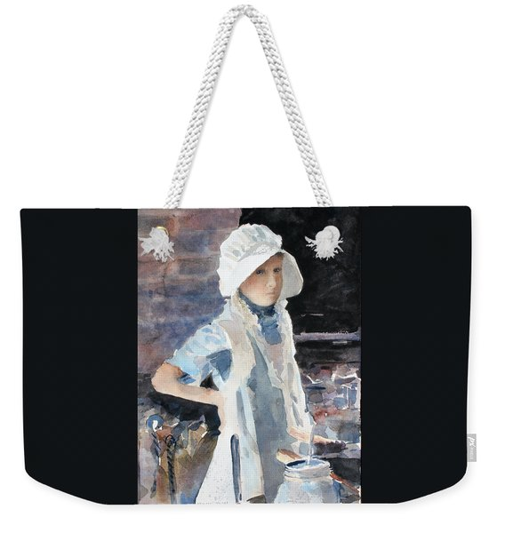 Learning The Past Weekender Tote Bag