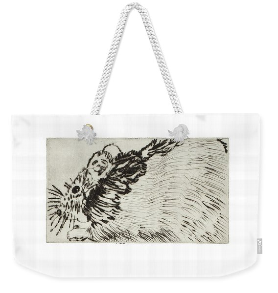 Learning To Love Rats More #1 Weekender Tote Bag