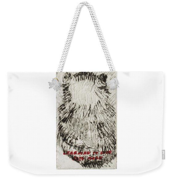 Learning To Love Rats More #3 Weekender Tote Bag