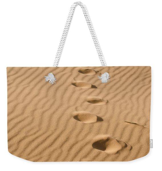 Leave Only Footprints Weekender Tote Bag